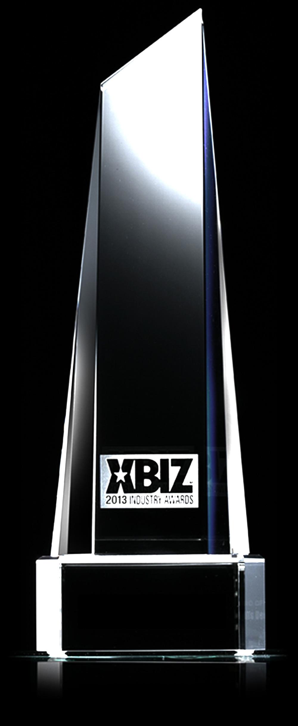 XBiz Award Trophy
