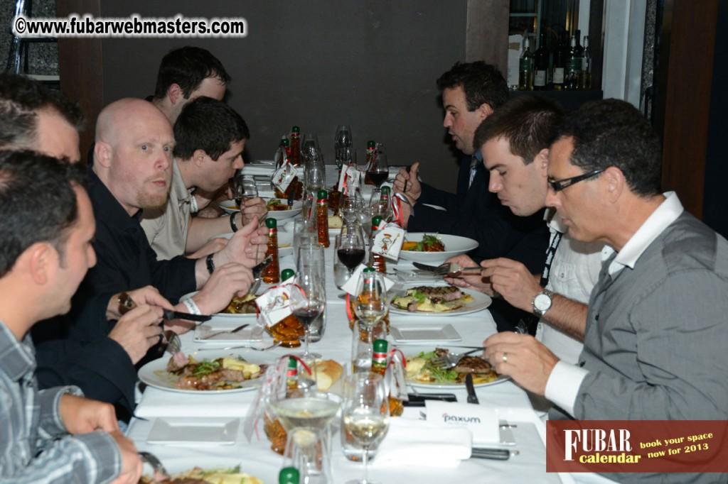 Paxum VIP Dinner 2012 @ Decca 77