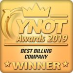 Paxum Named Best Billing Company & Best Alternative Billing @ YNOT Awards 2019!